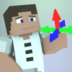 Cinema 4D - Minecraft Story Mode Character Rig V3 - AndyBTTF