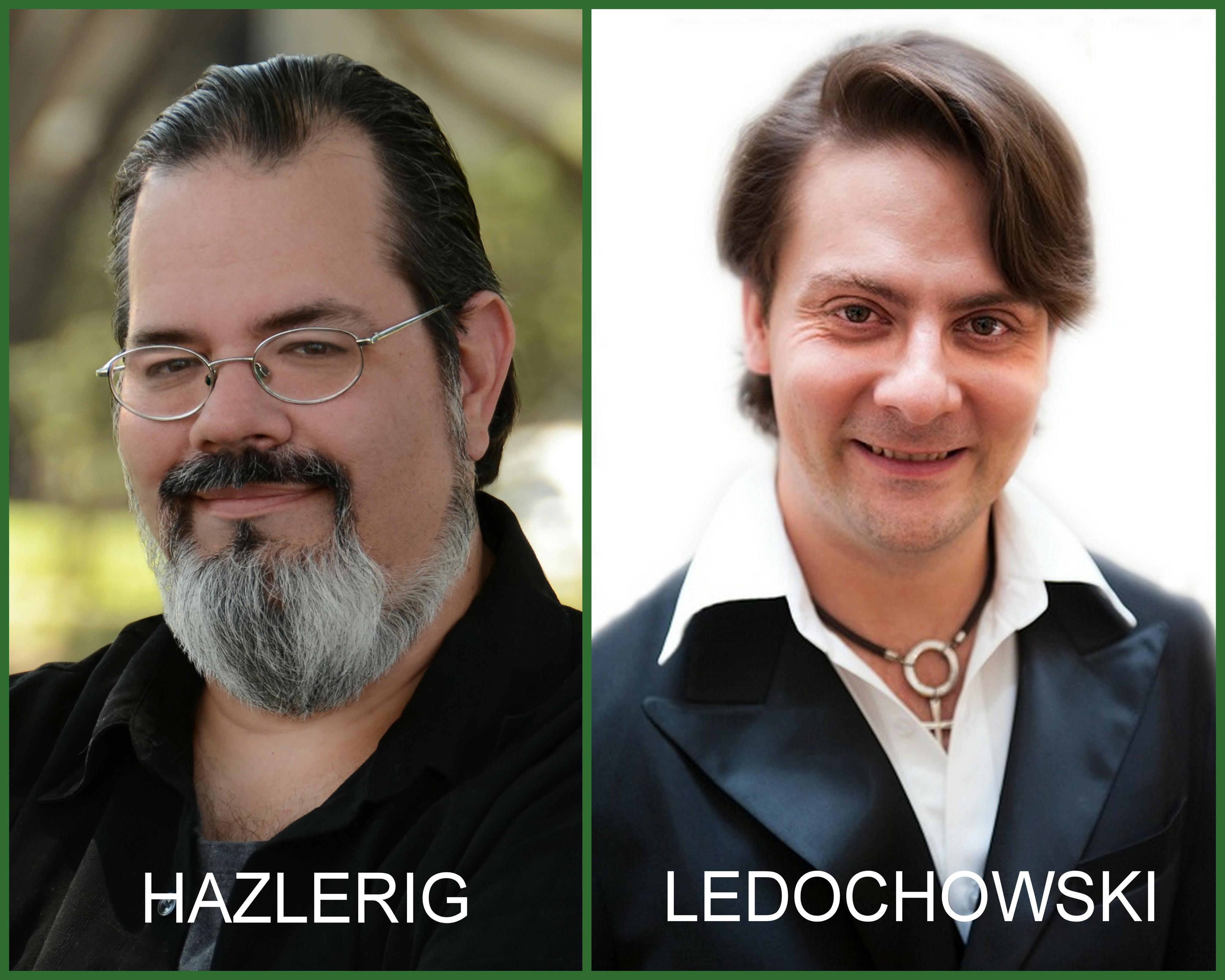 Hypnotic Storytelling Seminar with James Hazlerig and Igor Ledochowski