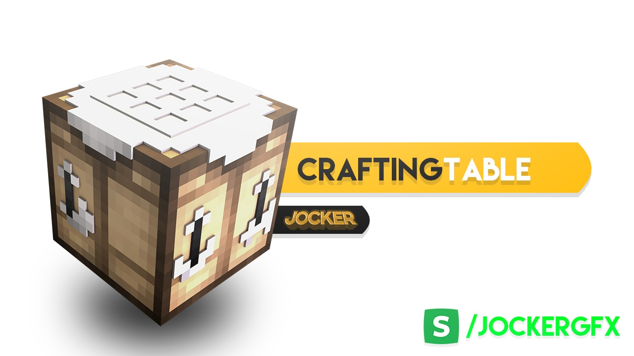 [FREE] Crafting Table rig For Cinema4D!