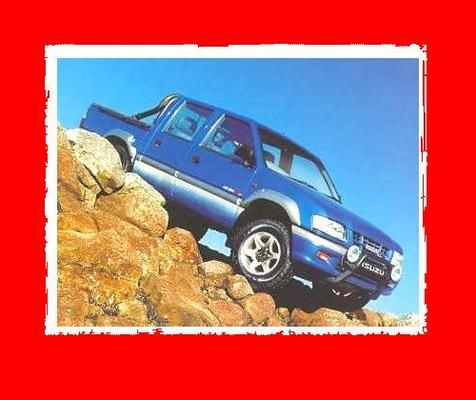 Isuzu Holden Rodeo KB TF140 1993 1994 1995 1996 repair manual