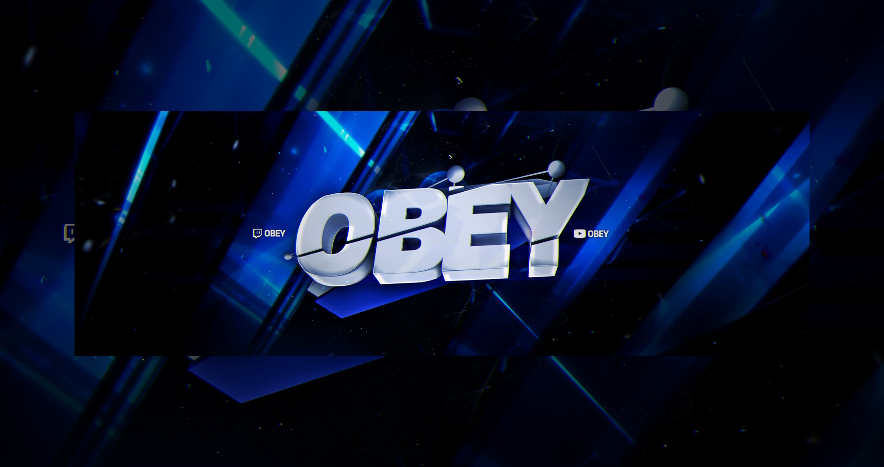 Obey header PSD+C4D
