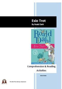 Esio Trot - Reading and Comprehension Activities