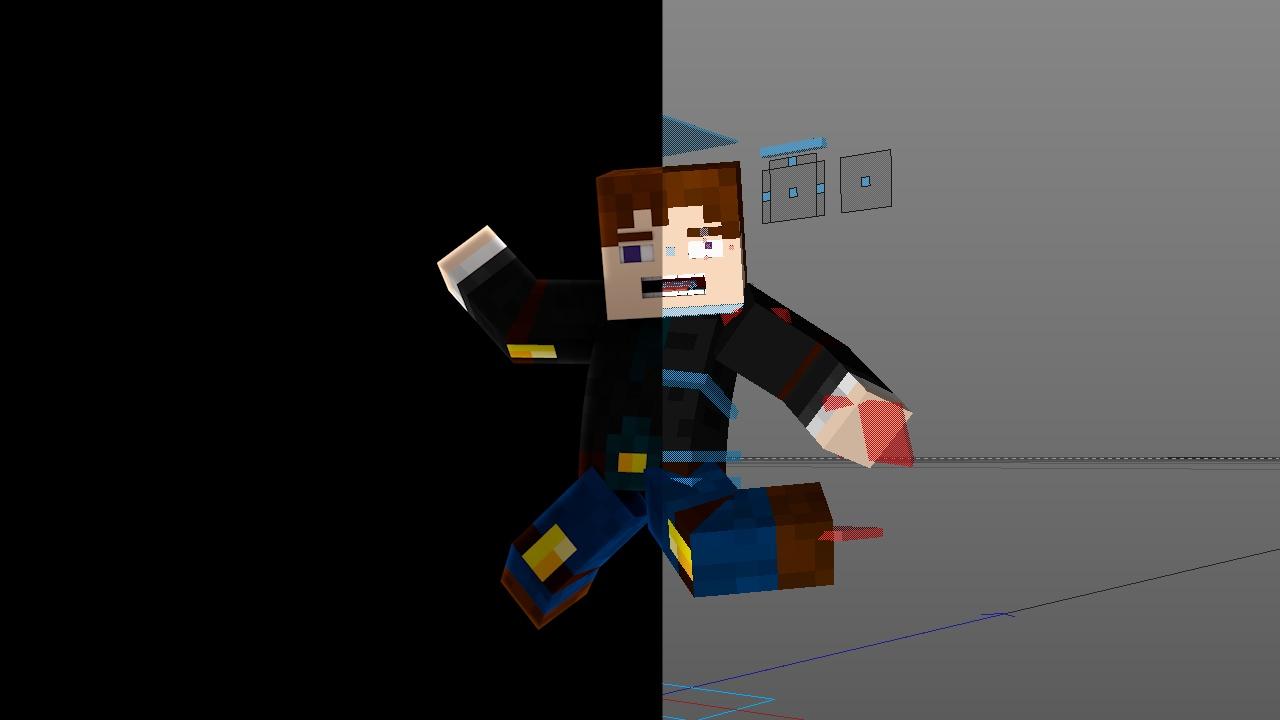 Animation Rig Edit by Arox. [Bluemonkey style]