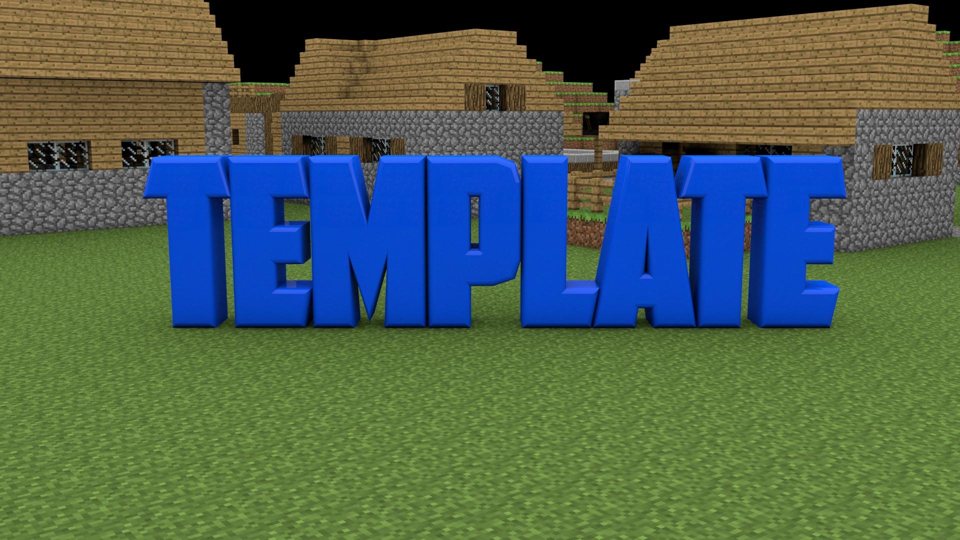 Minecraft Intro Template AE and C4D   darkghost - Sellfy.com