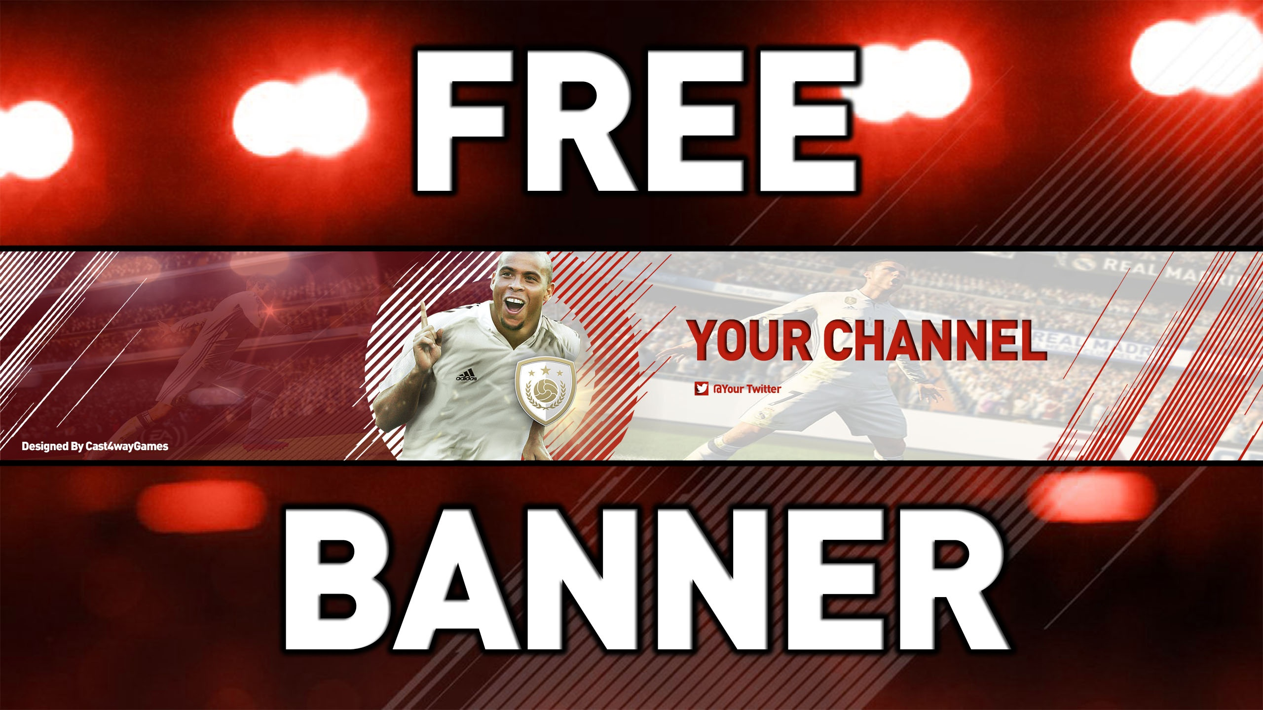 FIFA 18 Free Banner PSD