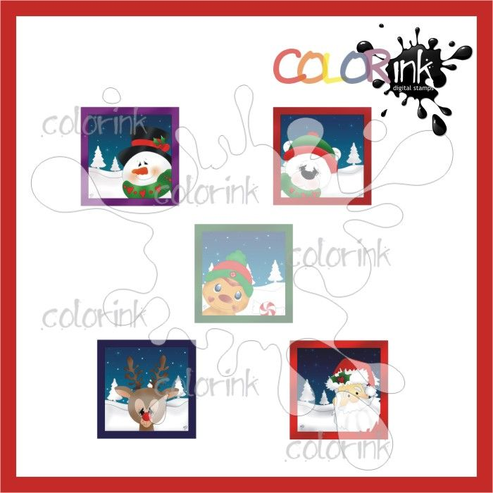 Winter Frames Mini Collection