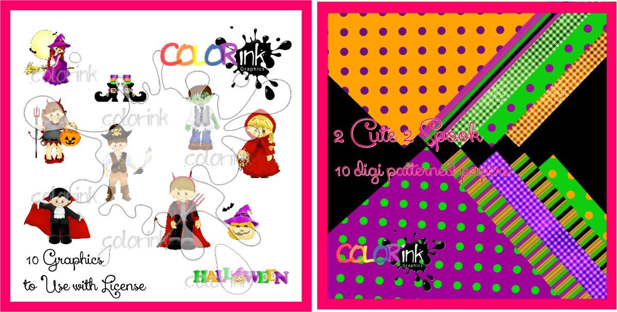 2 Cute 2 Spook Collection Printing License