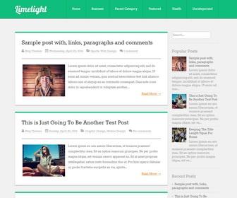 Blog template pro