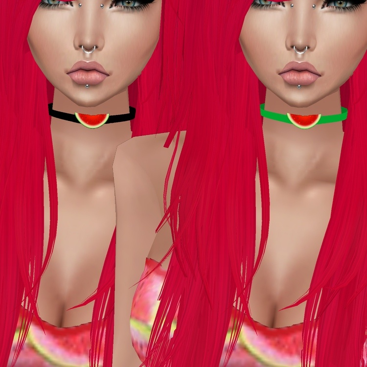 WaterMelon Choker - W/Resell Rights  / PSD & PNG.