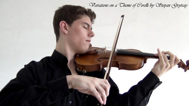 Variations on a Theme of Corelli by Stepan Grytsay [Violin & piano]