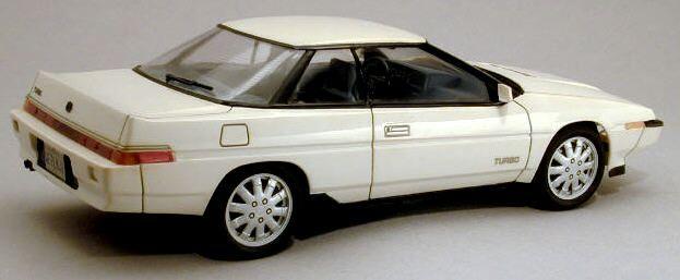 SUBARU XT 1988-1990 repair manual