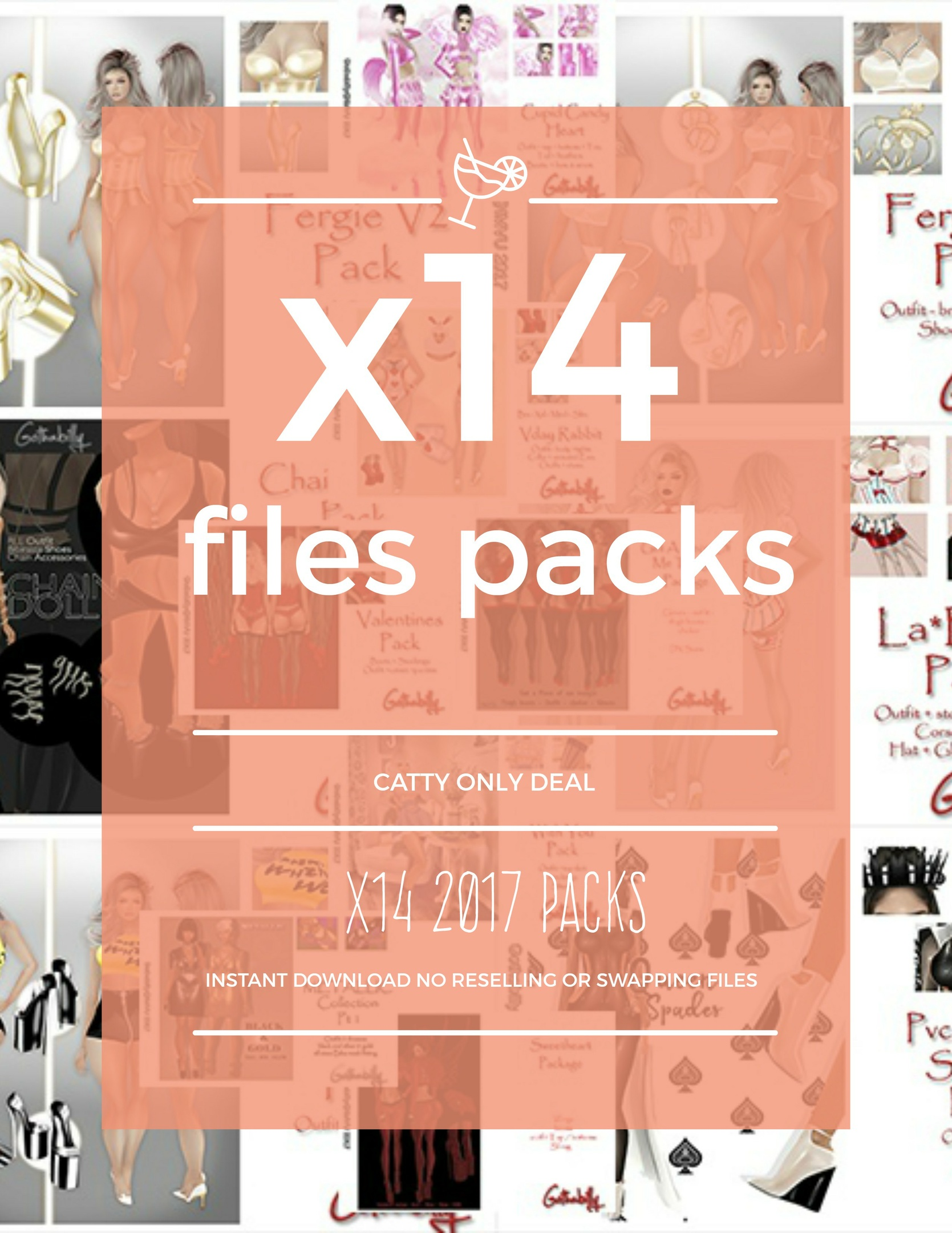 X14 PACKAGES - CATTY ONLY -