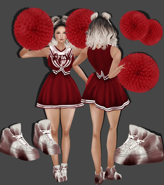 Zombie Cheerleader Bundle