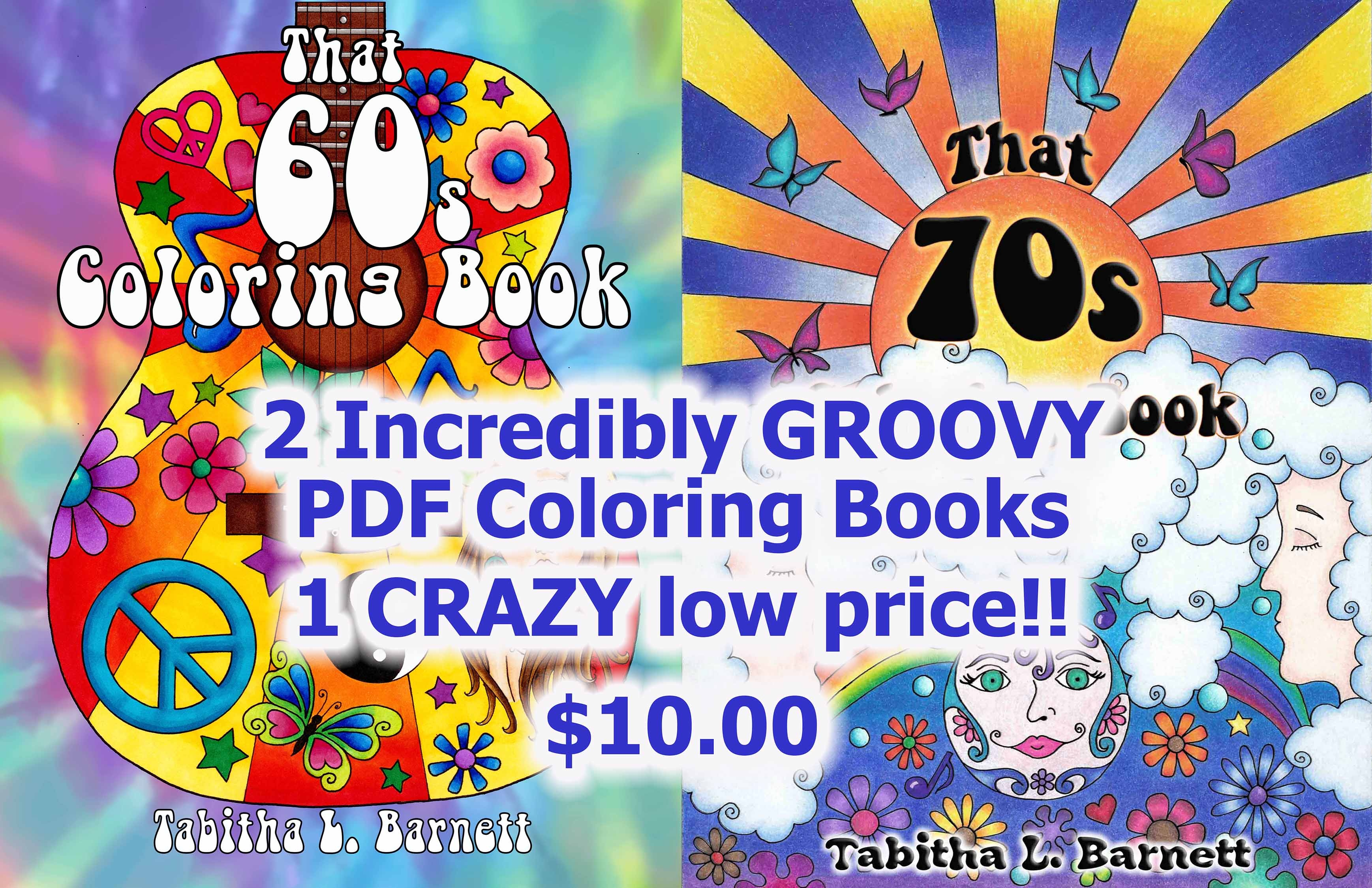 That 60s AND That 70s Coloring Books PDF