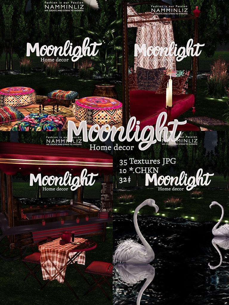 MOONLIGHT Home decor 35 Textures JPG • 10*.chkn imvu