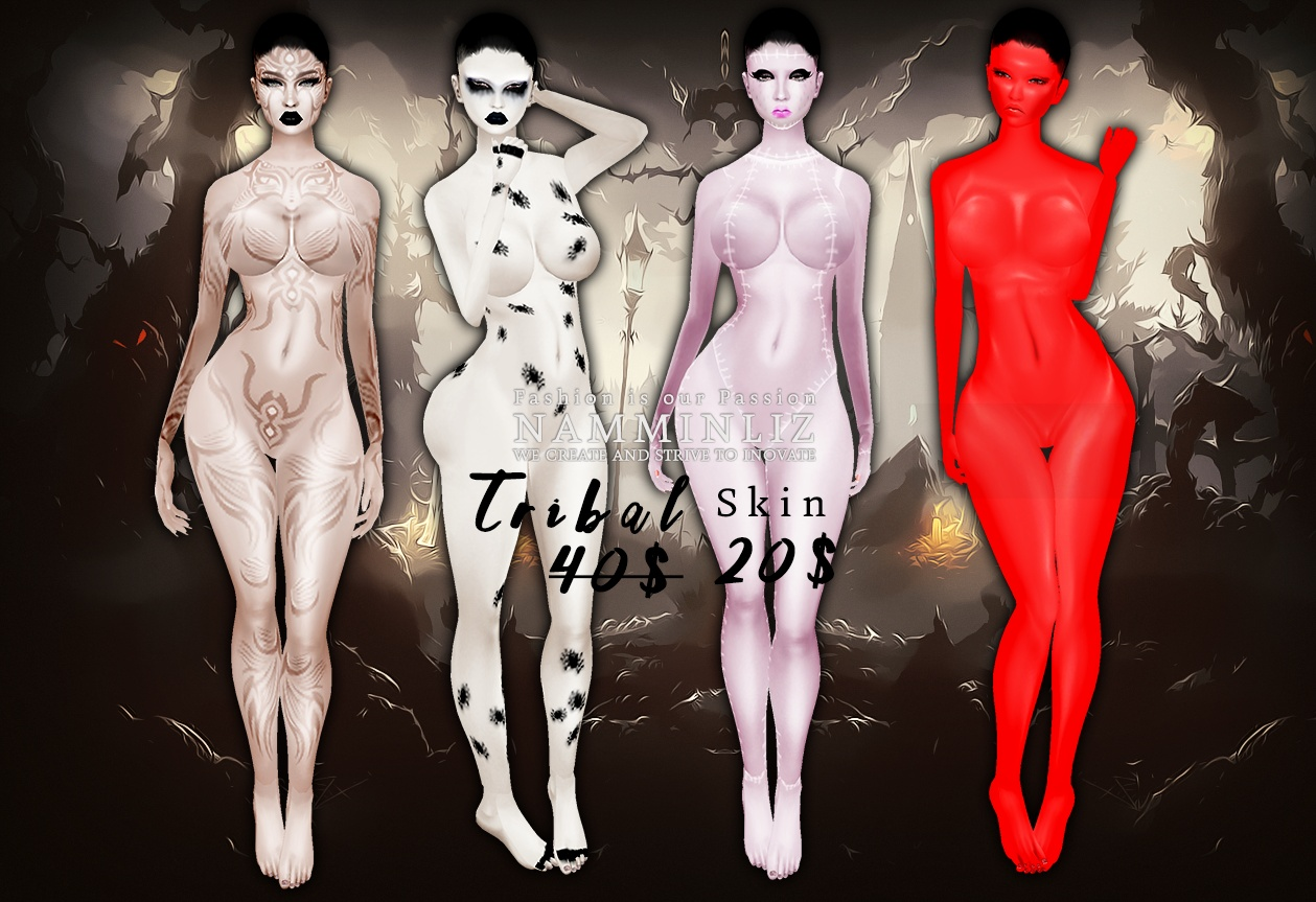 Halloween Skin •Tribal •Spider  •Diablo •Doll