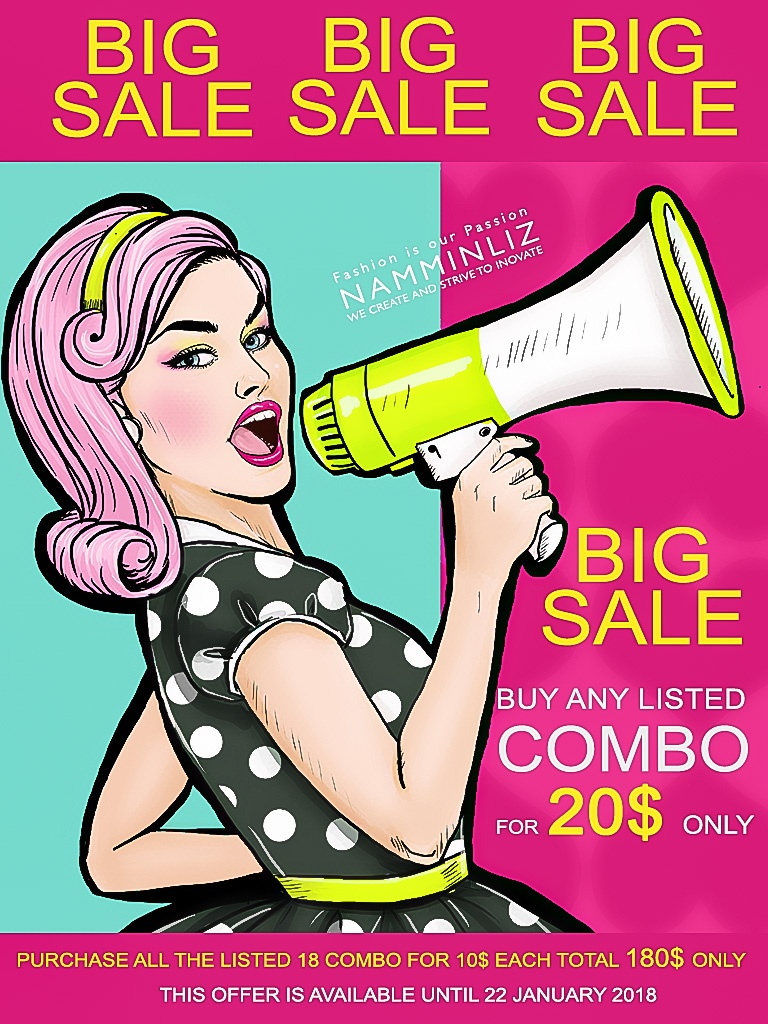 BIG SALE NAMMINLIZ 20$ for each combo ^  -  ^ ( Listed 18 combo ) File sale