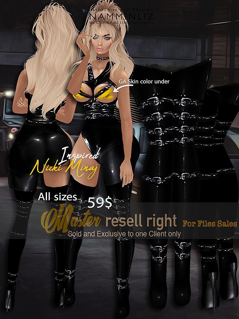 EXCLUSIVE Nicki Minaj Bibirasta Outfit + Boots All sizes initial price 59$ Discount price 49$
