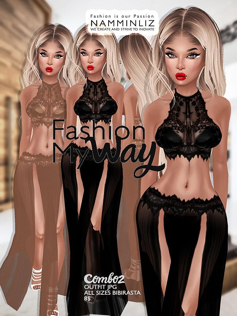 Fashion my way combo 2 ( Outfit Textures JPG All Sizes Bibirasta ) File sale NAMMINLIZ