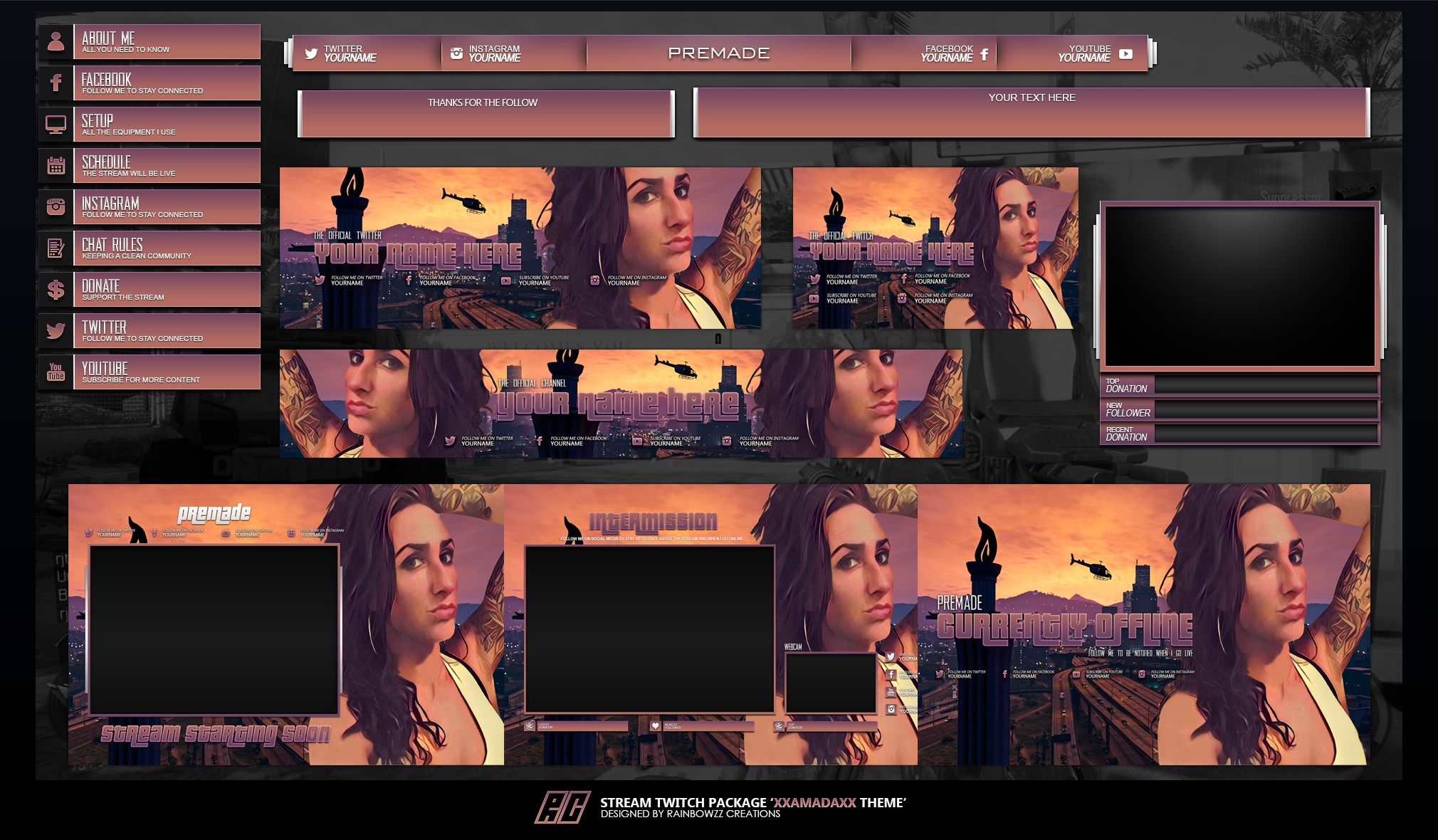Amada Stream Package