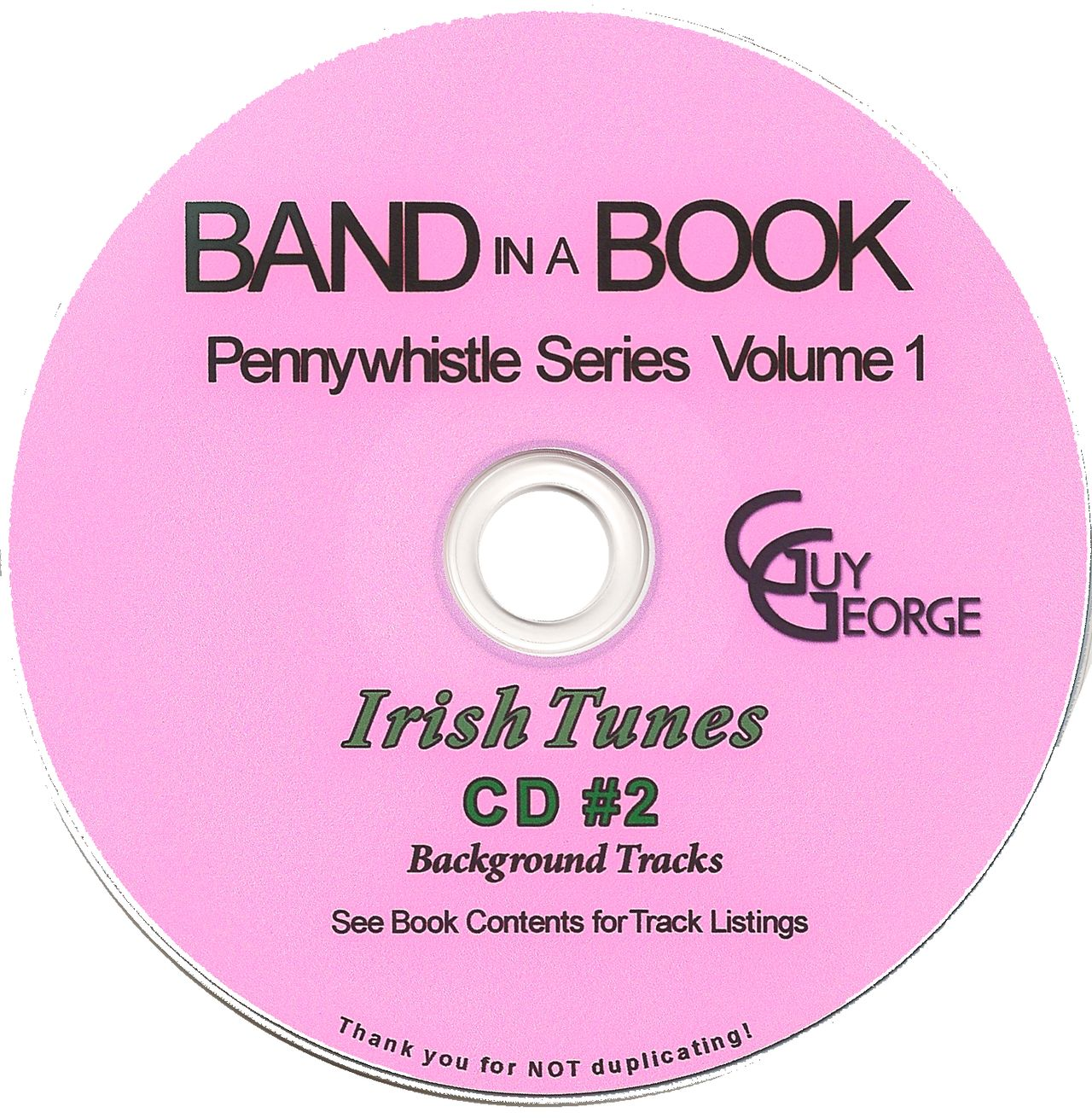Band In A Book Pennywhistle Series Vol1 - Irish Tunes CD2