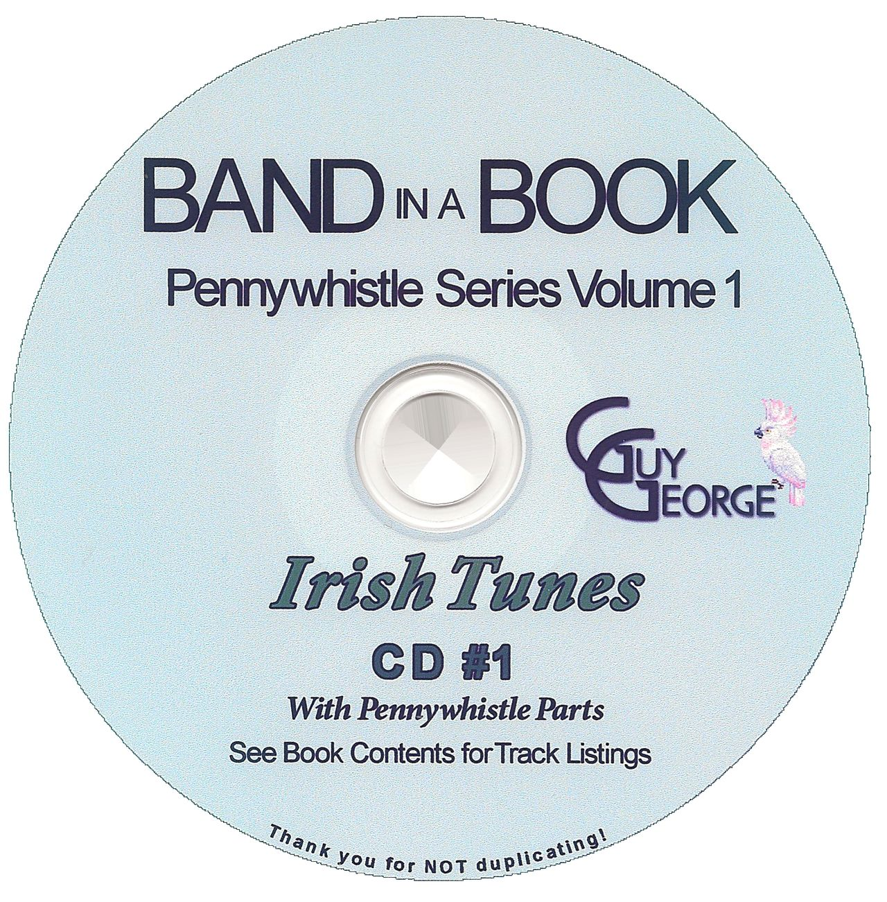 Band In A Book Pennywhistle Series Vol1 - Irish Tunes CD1