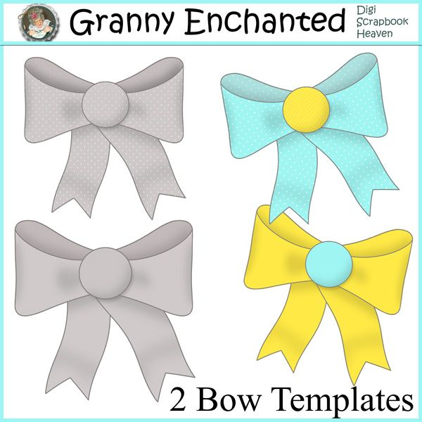 """Bow Template"" From Granny Enchanted"