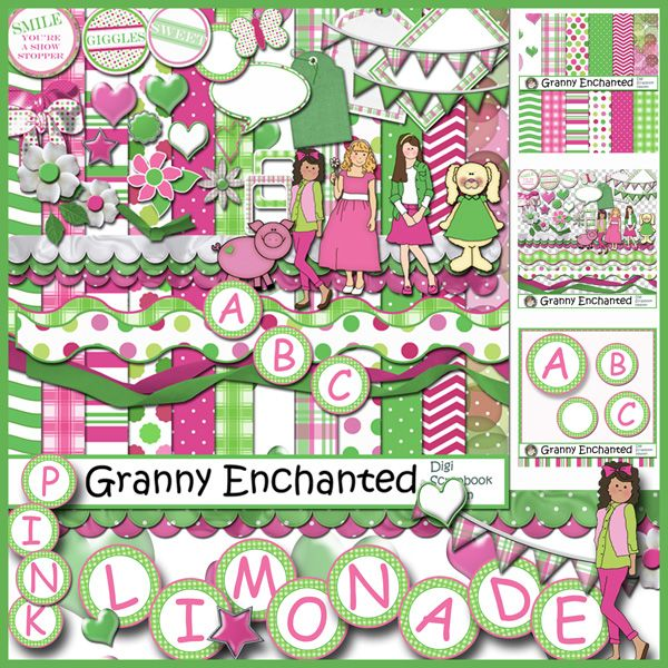 Limonade Digital Scrapbook Kit