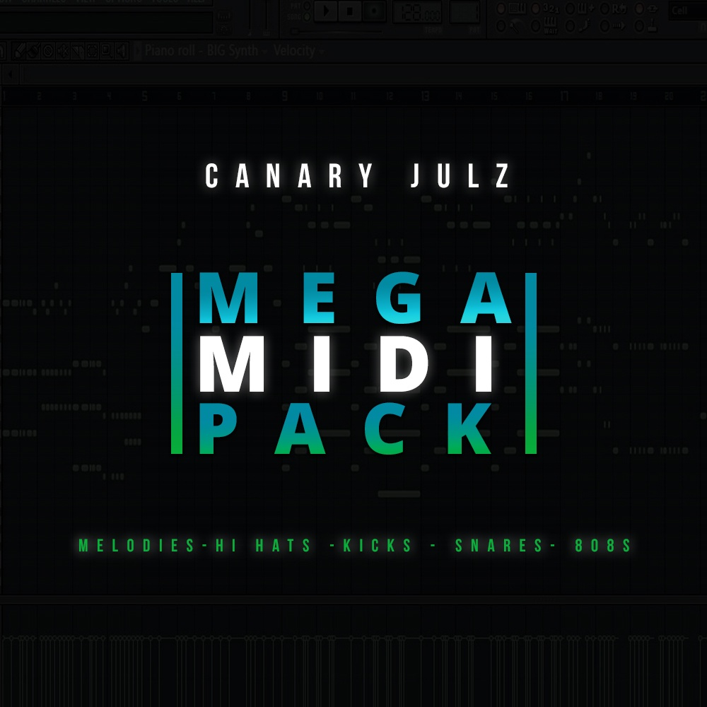 CJ's Mega MIDI Pack : MIDI Melodies & Drums