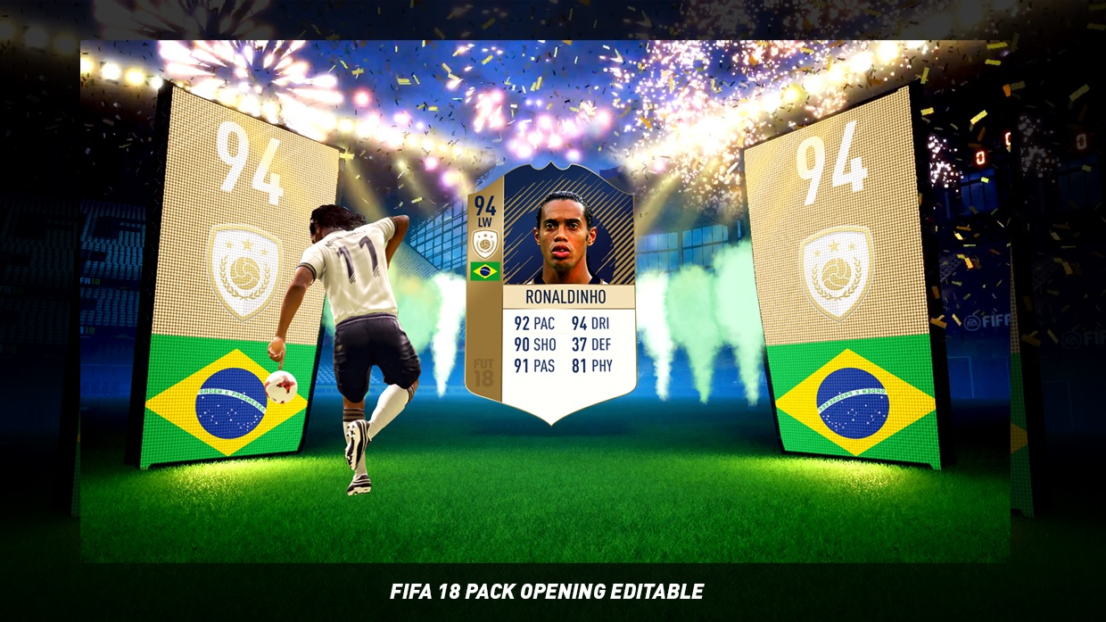 FIFA 18 PACK OPENING TEMPLATE
