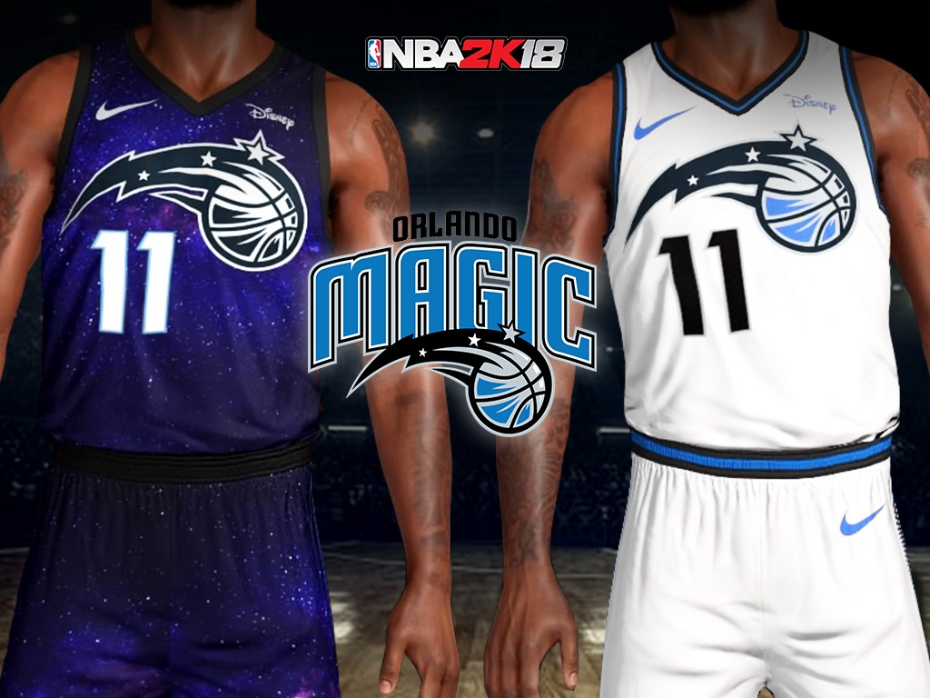 Orlando Magic City Lights Jersey + Arena