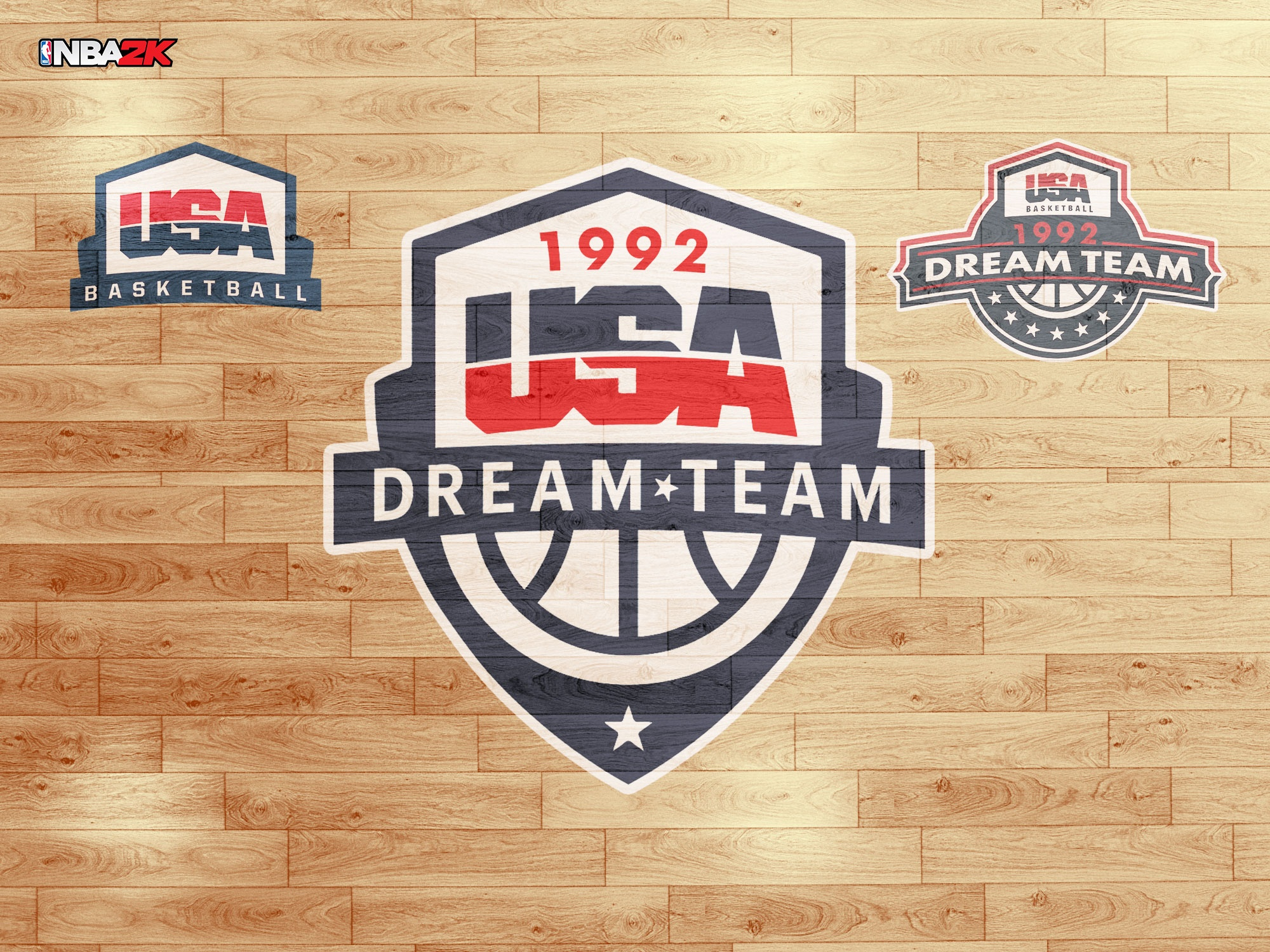 1992 USA Dream Team Jersey & Arena