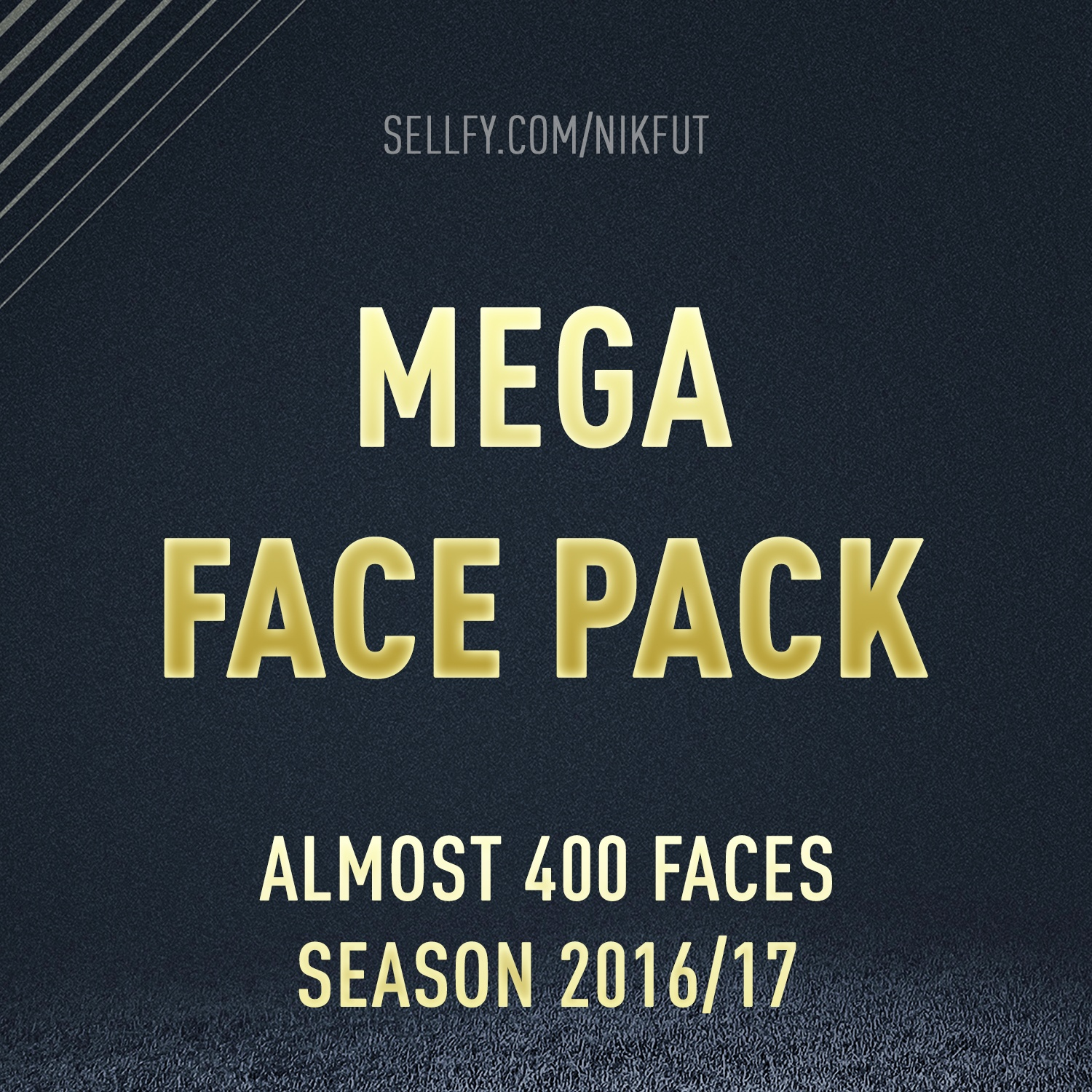MEGA FACE PACK (FOR FIFA 17)
