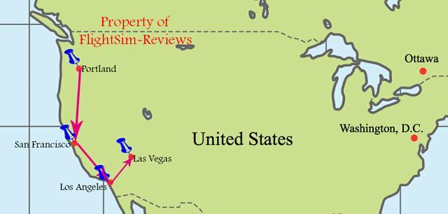 USA Tour West