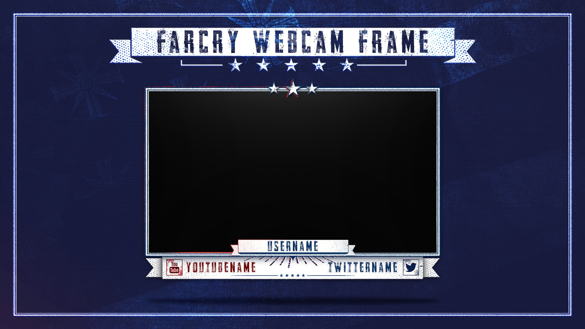Farcry 5 | Twitch Webcam Template