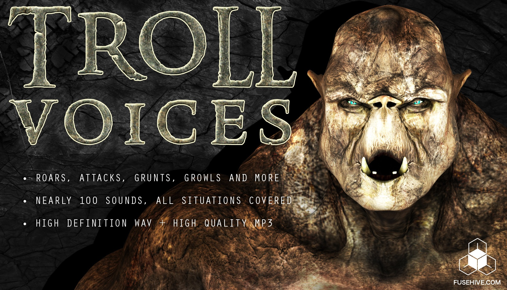 TROLL VOICE - Royalty Free Fantasy Monster Voice Sound Effects Download