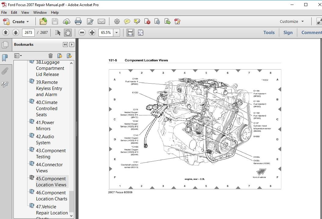 Ford Focus 2007 Repair Manual