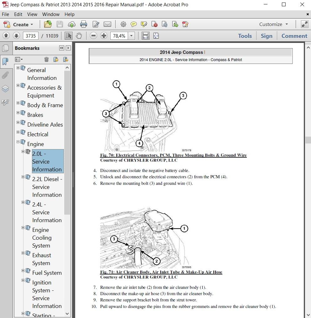 Jeep Comp & Patriot 2013 2014 2015 2016 Repair Manual Jeep Comp Wiring Diagram Pdf on battery diagram pdf, data sheet pdf, body diagram pdf, welding diagram pdf, power pdf, plumbing diagram pdf,