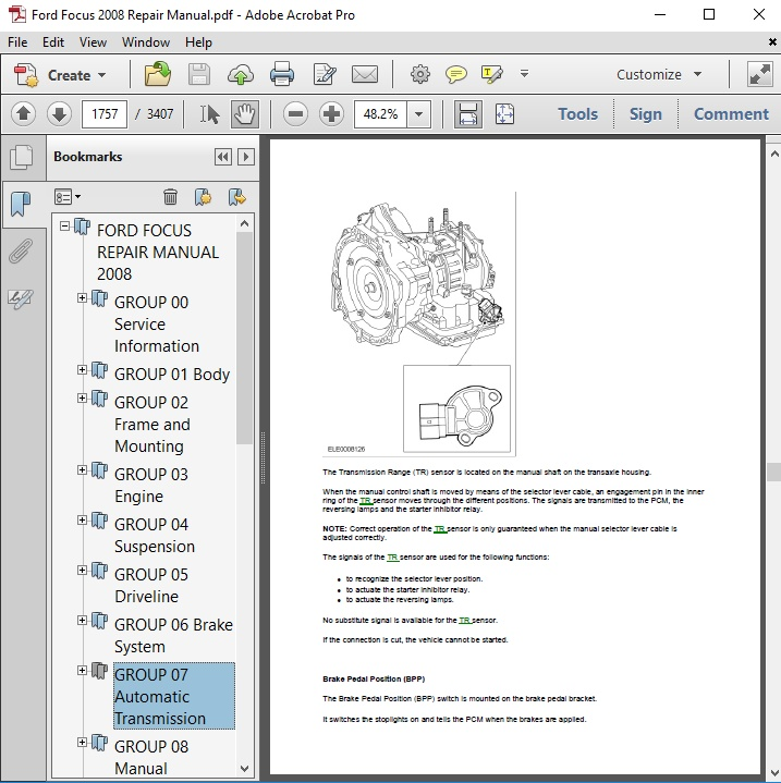 2008 focus owners manual