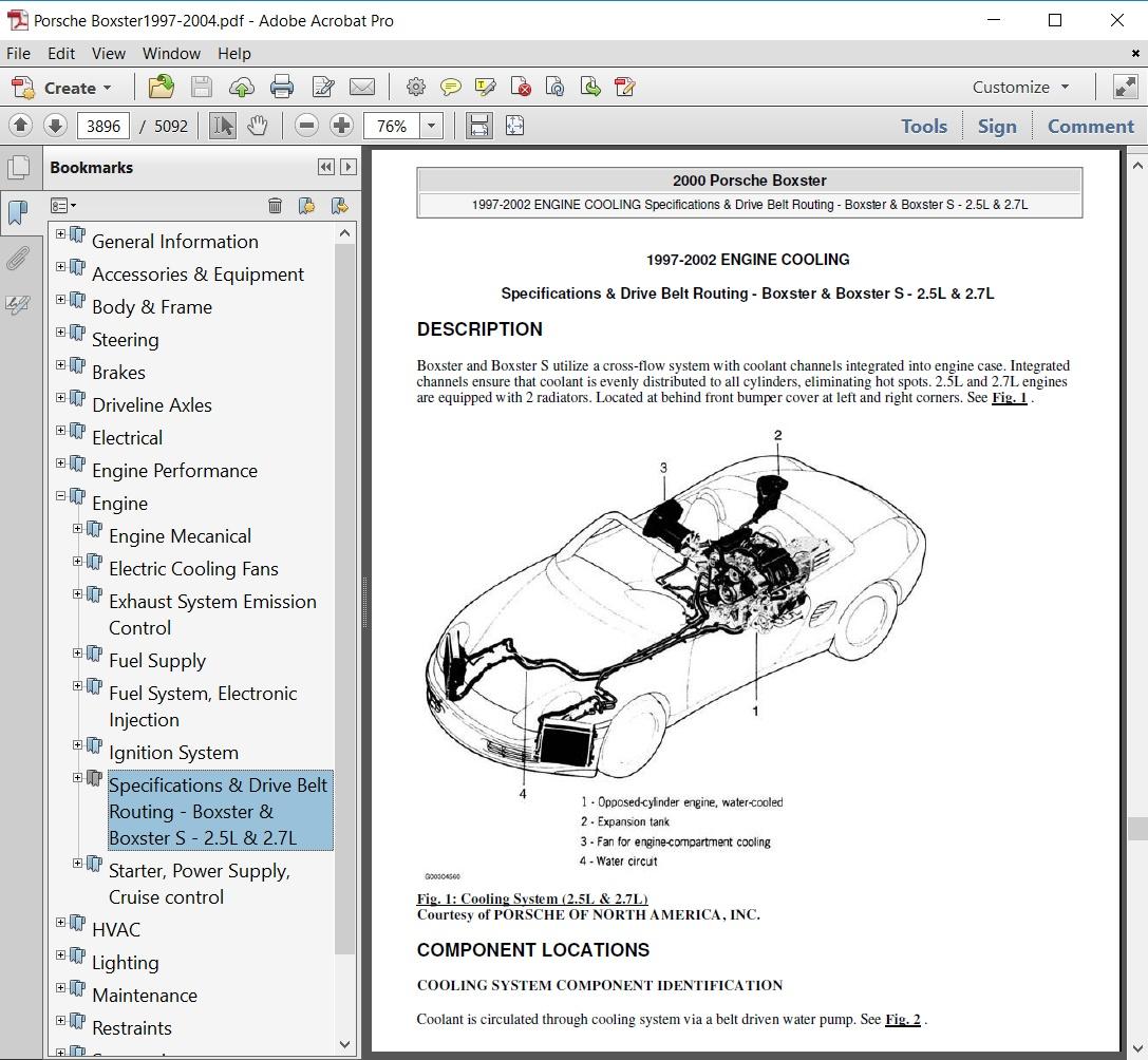 2000 porsche boxster engine diagram porsche boxster 986 1997 1998 1999 2000 2001 2002 2003  porsche boxster 986 1997 1998 1999 2000