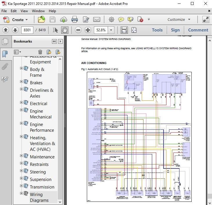 kia sportage 2011 2012 2013 2014 2015 repair manual 2006 Kia Sorento LX Transmission Diagram