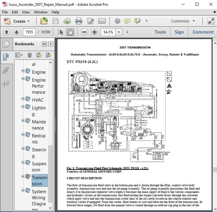 isuzu ascender wiring diagram isuzu ascender 2007 repair manual autoservicerepair  isuzu ascender 2007 repair manual