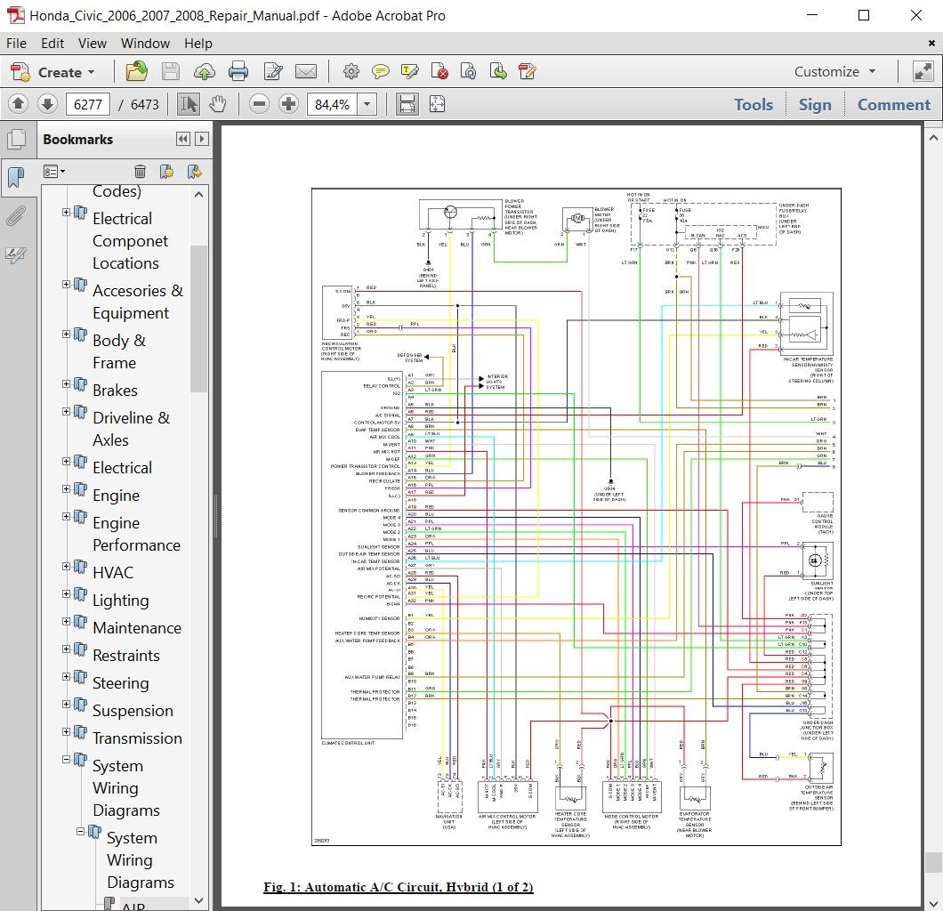 2006 honda civic manual pdf