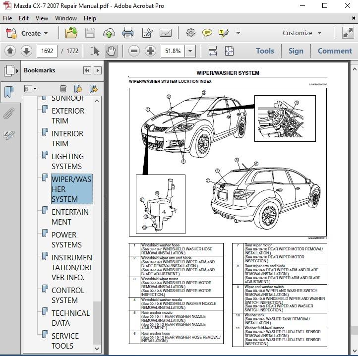 Mazda Cx 7 Engine Diagram