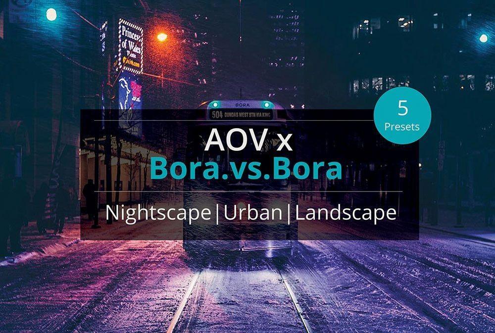 AOV x Bora.vs.Bora Lightroom Presets