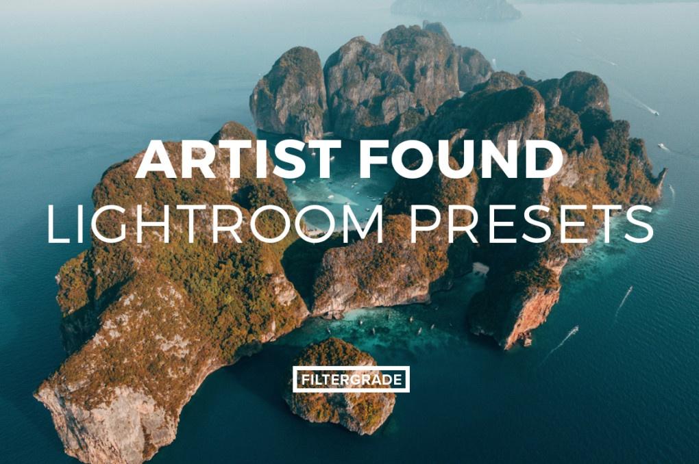 Filtergrade Artist Found Lightroom Presets