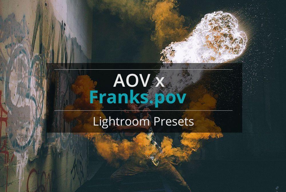 AOV x Franks.pov Lightroom Presets