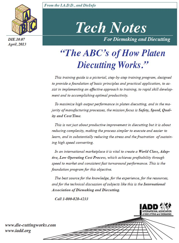 How Platen Diecutting Works