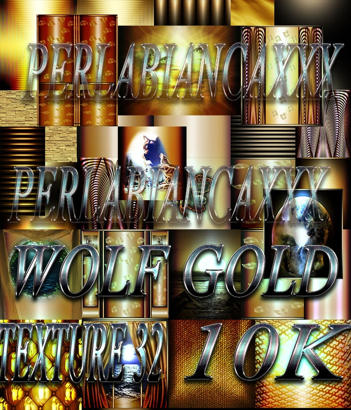wolf gold 32 textures 5 usd