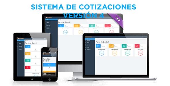 Sistema web de cotizaciones (pago único)